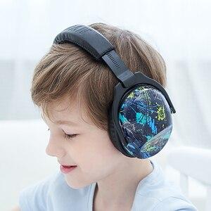 Image 2 - ZOHAN çocuklar kulak koruyucu güvenlik kulak Muffs NRR 22dB gürültü azaltma kulak koruyucular en İyi İşitme koruyucular bebekler çocuklar için erkek