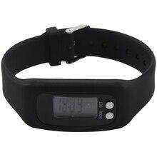 HX-спорт-часы-браслет-Шагомер-запястье-шаг-Ходьба-счетчик калорий-трекер Цвет: черный