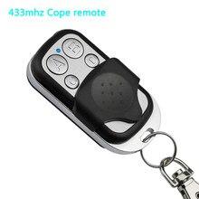 433mhz cópia do controlador remoto de metal clone remotos cópia automática para gadgets porta garagem casa carro