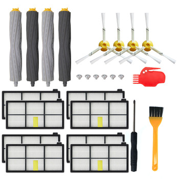HEPA Filters Replace Brush Kit Parts Accessories For IRobot Roomba 805 860 861 865 866 870 871 880 885 960 966 980 Series replenishement kit for irobot roomba 800 900 series 805 860 870 871 880 890 960 980 vacuum accessories replacement parts