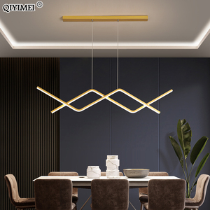 Modern LED Pendant Lights Dimmable Luminaire For Dining Living Room Bedroom Kitchen Hall Home New Lamp Indoor Lighting AC90-260V