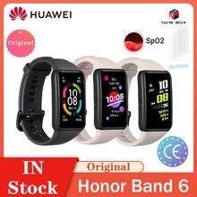 HUAWEI – Honor Band 6, écran tactile couleur AMOLED de 1.47 pouces, multi-langues, SpO2, sommeil, sommeil, Stress, 14 jours d'autonomie, Bluetooth 5.0