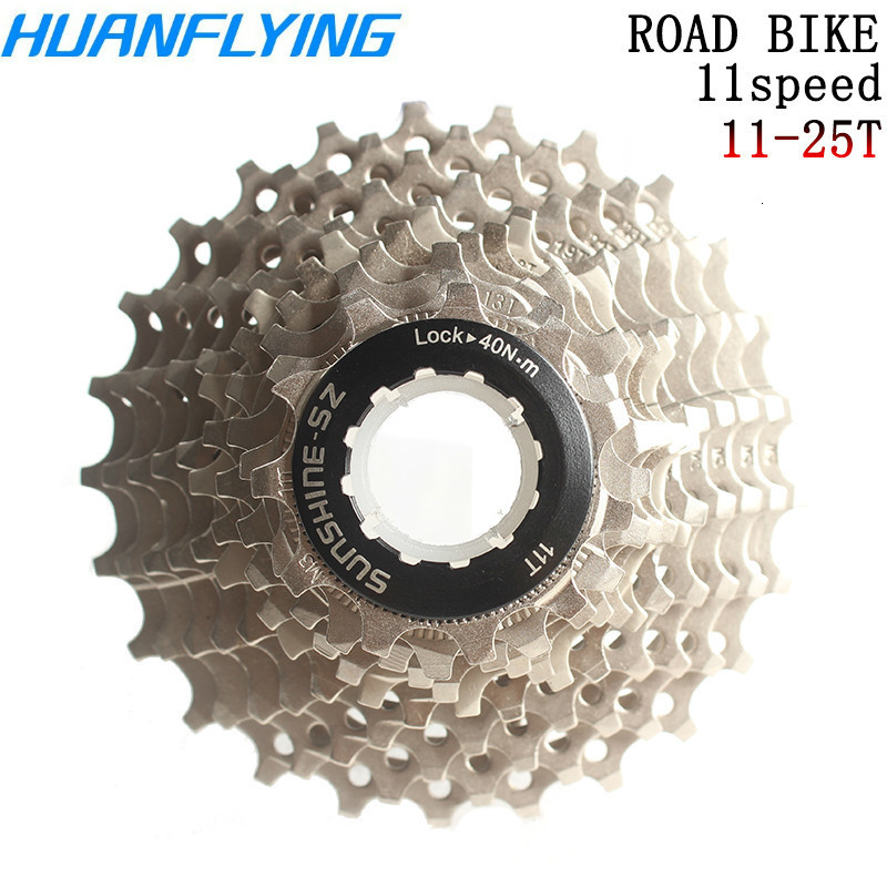Road Bike 11Speed Cassette 25t 28t 32t <font><b>36t</b></font> Steel Freewheel 22Speed Flywheel <font><b>Sprocket</b></font> For Road Bicycle Parts Rated 5.0/5 Based image
