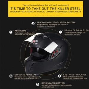 Image 4 - GXT Motorcycle Helmet Full Face Casco Moto Double Visor Racing Motocross Helmet Casco Modular Moto Helmet Motorbike Capacete #