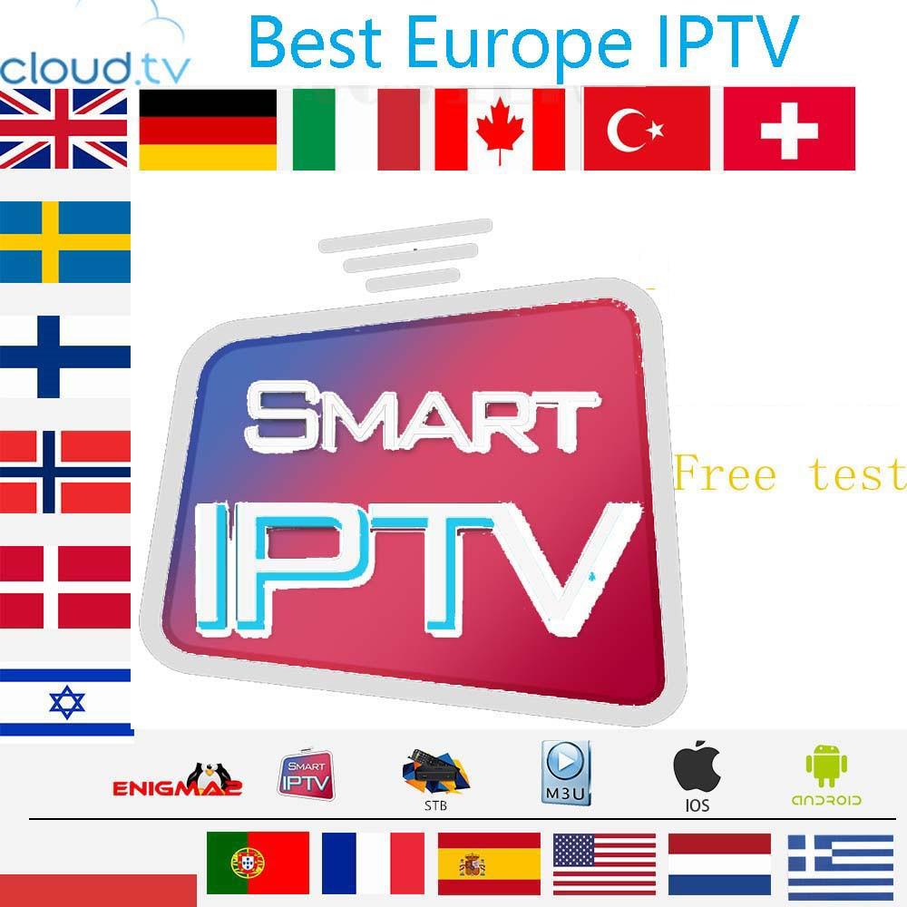 IPTV German French Turkish UK Poland Romania Hungary Czech Spain Nordic HD IPTV Support Android M3u Smart TV