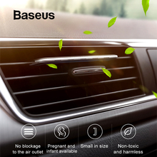 Baseus Car Air Purifier oil diffuser For Freshener Clip More Scent aroma AromaWith 6 Piece Essential stick