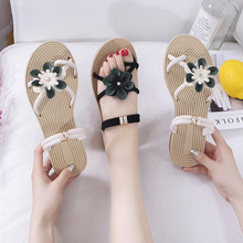 Women's Shoes Superfine Fiber Sandals, Soft Women's Shoes, Beach Shoes, Flat-soled Shoes Casual Shoes High-Heeled Shoes