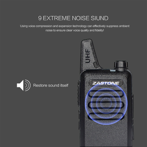 Image 3 - Zastone X6 Mini Walkie Talkie 400 470 UHF Walkie Talkie Portable Handheld Radio Comunicador Two Way Ham Radio