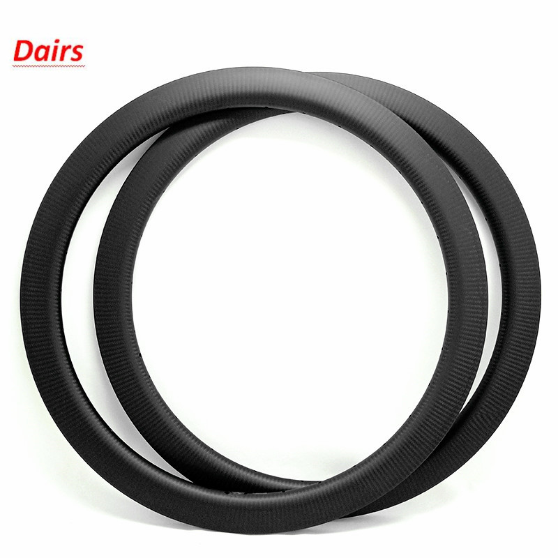 700c bike disc <font><b>rim</b></font> 60x25mm clincher bicycle wheel ERD 520mm disc road bike <font><b>rims</b></font> 540g carbon <font><b>rim</b></font> image