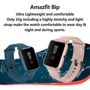 Image 3 - Amazfit smartwatch bip lite, versão global, leve, resistente à água até 3atm, com 45 dias de modo de espera, gps