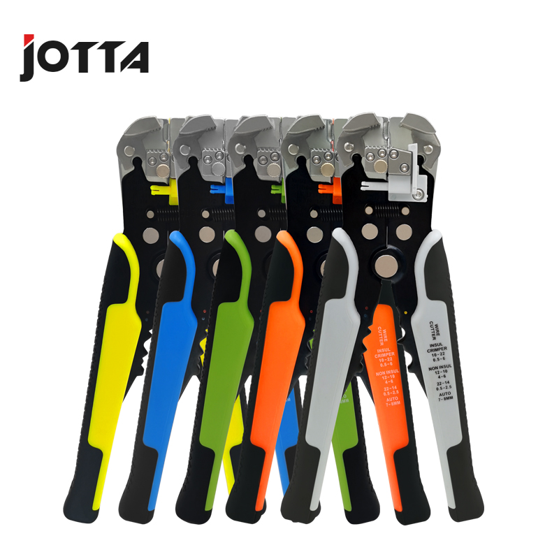 Купить с кэшбэком Crimper Cable Cutter Automatic Wire Stripper Multifunctional Stripping Tools Crimping Pliers Terminal 0.2-6.0mm2