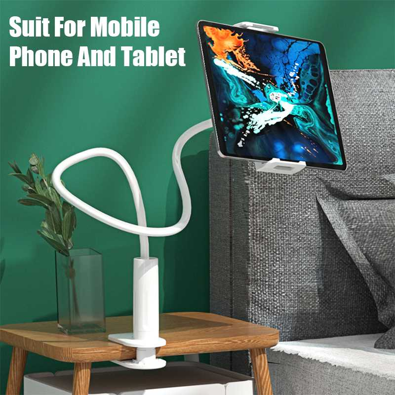 Mobile Phone Clip Holder Bed Stand Adjustable Support For Cell Phone Smartphone Flexible Lazy Mobile Holder