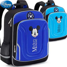 Disney Elementary Schoolbag Minnie Mickey Kids Backpack 5-14 years old Mickey Minnie Protect the spine waterproof kids backpack