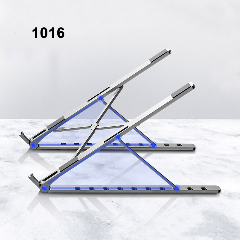 X Style Adjustable Foldable  Aluminum Laptop Stand Desktop Notebook Holder Desk Laptop Stand For 7-15 Inch Macbook Pro Air