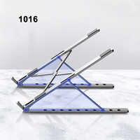 X estilo ajustável dobrável de alumínio portátil suporte desktop notebook suporte de mesa portátil suporte para 7-15 polegada macbook pro ar