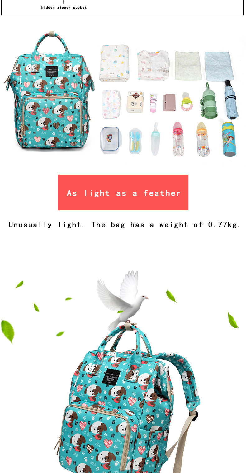 H39a5a7a03efb4e67ad0d4901318fde517 Fashion Mummy Maternity Nappy Bag Waterproof Diaper Bag With USB Stroller Travel Backpack Multi-pocket Nursing Bag for Baby Care