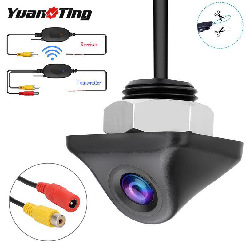 YuanTing Wireless Car Rear View Backup/Side/Front View 170 Wide Angle Auto Parking Reverse Waterproof Security Sensor Camera|Vehicle Camera| - AliExpress