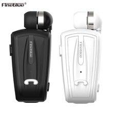 Fineblue F-V6 Draadloze Bluetooth 4.0 Mini Oortelefoon Stereo Bluetooth Draadloze Clip Oortelefoon Voor Ios Android Telefoon Noise Cancelin