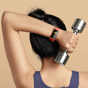 Image 2 - Умный Браслет Xiaomi Redmi Band, фитнес браслет с цветным сенсорным экраном 1,08 дюйма и Пульсометром