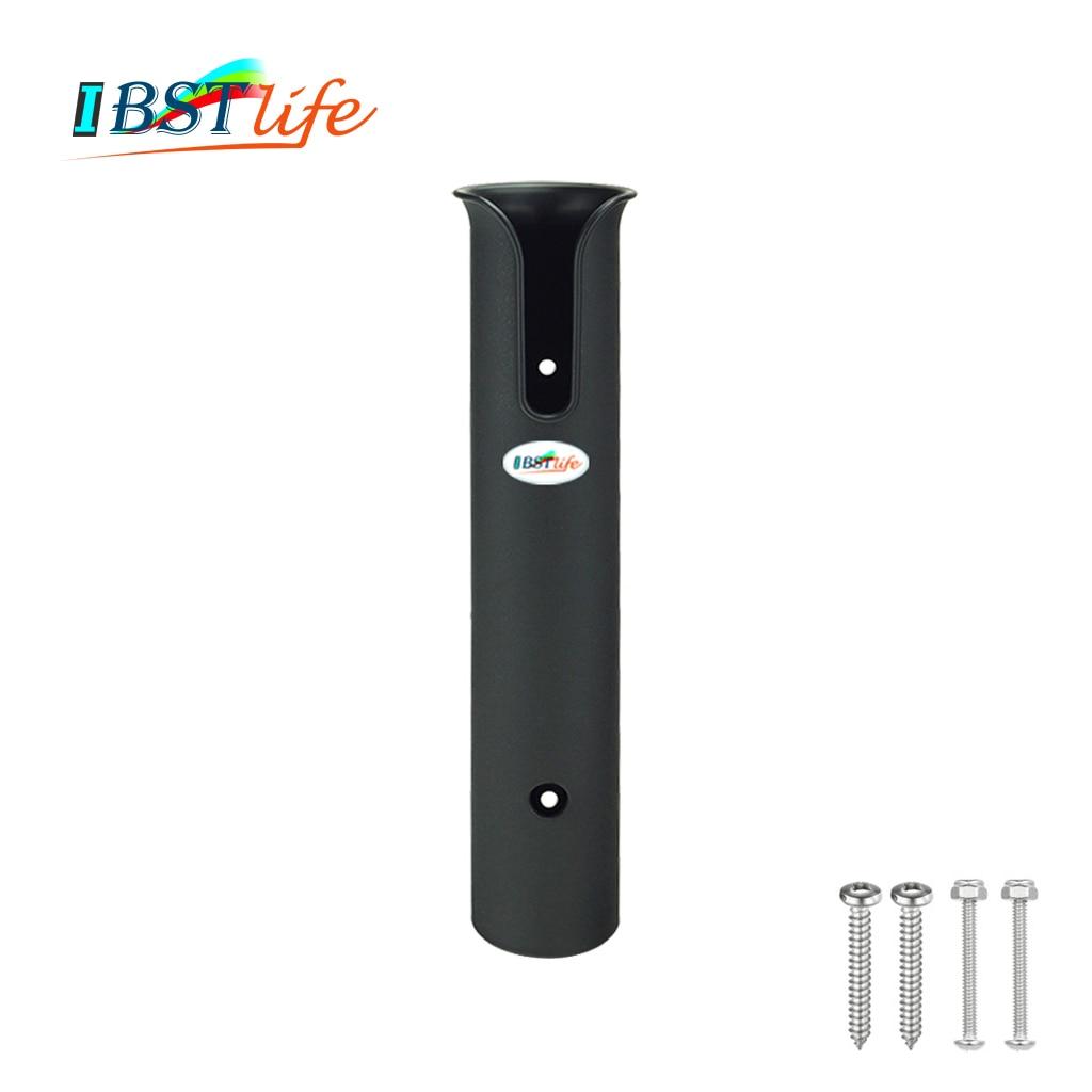 ABS Plastic Fishing Rod Holder Portable Lightweight Fishing Rod Spinning Durable Pole Tube Mount Bracket Socket Rack