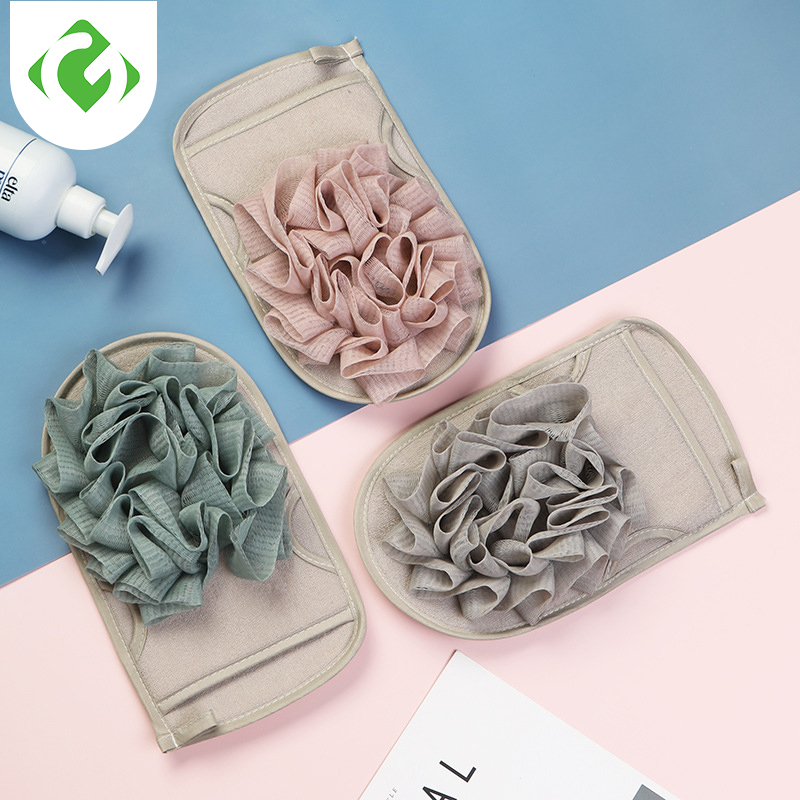 1pc Shower Bath Towel Gloves Bath Shower Body Wash Skin Spa Bath Scrubber Clean Brush Bath Amenities Rub Dead Skin Removal