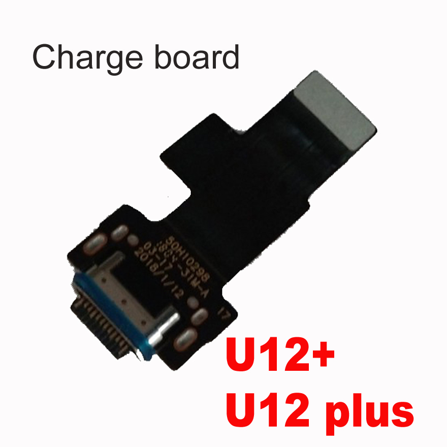 Original USB Charge Board For HTC U12 Plus U12plus USB Micro Dock Charger Charging Port Connector Microphone Board For U12+