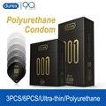 Durex 001 полиуретановый презерватив 54 мм ультратонкий рукав для пениса для мужчин не латексный Невидимый презерватив интимный продукт для пар