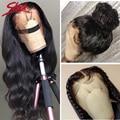 Гладкие бразильские волосы Remy 360, фронтальные человеческие волосы, парики 28 30, Детские волосы, волнистые волосы 4x4, парики из человеческих во...