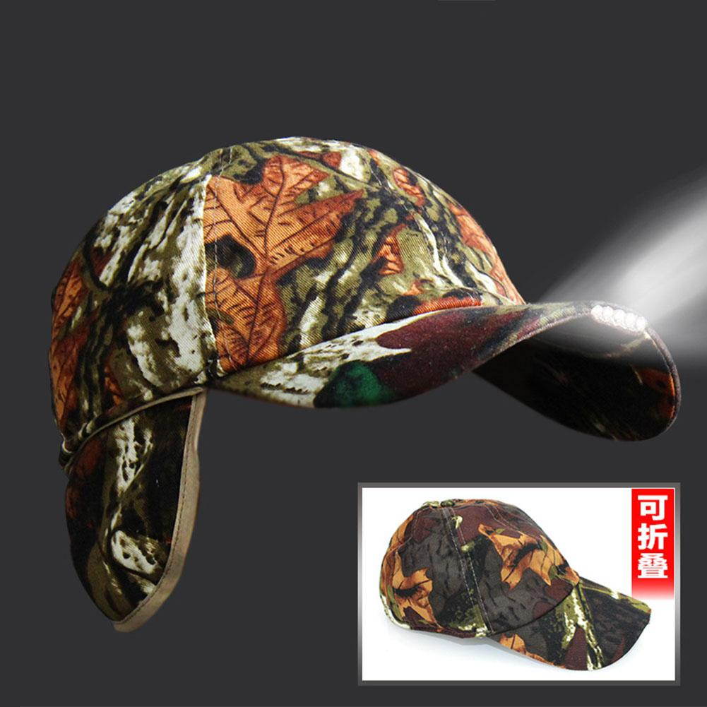 HobbyLane Foldable Super Bright LED Cap Lamp Headlight HeadLamp Headlight Flashlight Cap Hat Light Clip Light Fishing Head Light