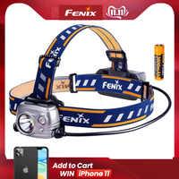 Fenix HP25R Outdoor Scheinwerfer 1000 Lumen Wasserdicht Rettungs Suche Scheinwerfer mit 18650 batterie