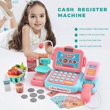 24Pcs Children's Supermarket Cash R egister Simulation Check