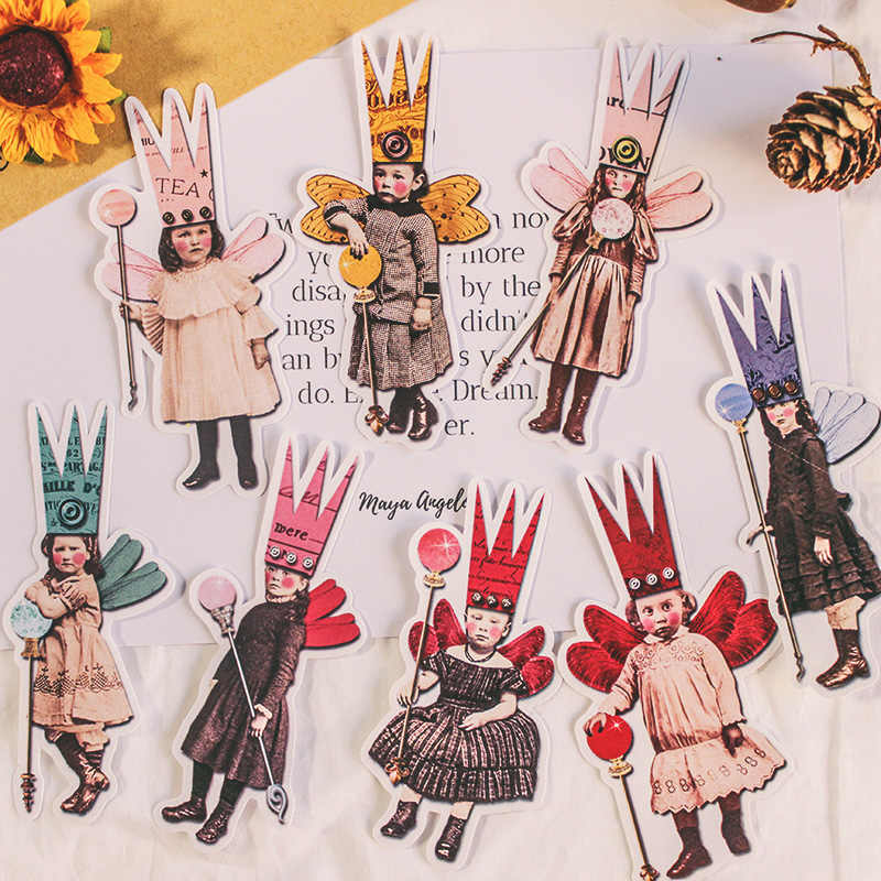 27 Pcs Vintage Brief Stickers Kawaii Kinderen Diy Scrapbooking Album Journal Gelukkig Planner Ambachten Decoratieve Stickers Pakket