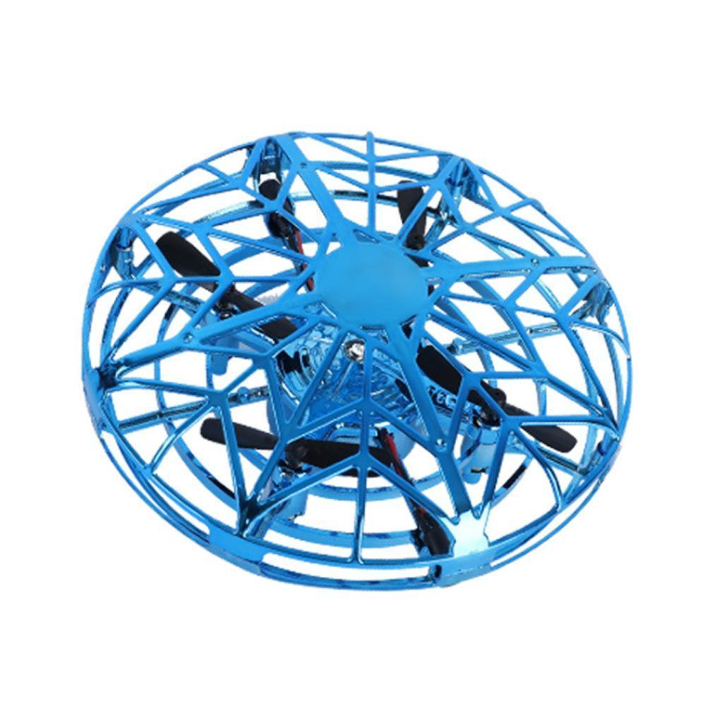 UFO Flight Simulator Auto Avoidance Hand Operated Drone Induction Toy Remote Racing Multidirectional Aircraft Rc Control V5L0