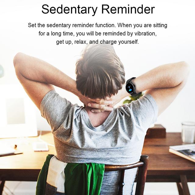 SANDA Full Touch Luxury Men Smart Watch Waterproof Sport Pedometer Fitness Tracker Heart Rate Monitor Women Clock Smartwatch