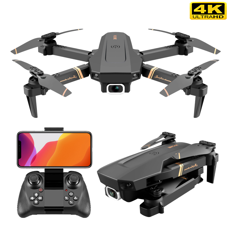 RC drone 4k WIFI live video FPV 4K/1080P drones with HD 4k Wide Angle profesional Camera quadrocopter dron TOYs|RC Helicopters|   - AliExpress