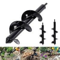 10''/12'' Home Garden Earth Land Digging Holes Tool Drill Bit Farm Planting Auger Digging Spiral Bit For Manual Aerators|Manual Aerators|Tools -