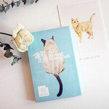 Милая кошечка в живую как кошка для всех любителей кошек 30 шт. Изысканная Классическая Ретро хорошо упакованная переработанная открытка Подарочная открытка