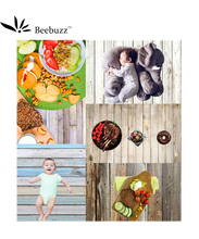 Beebuzz photo backdrop small size wooden planks vinyl material background