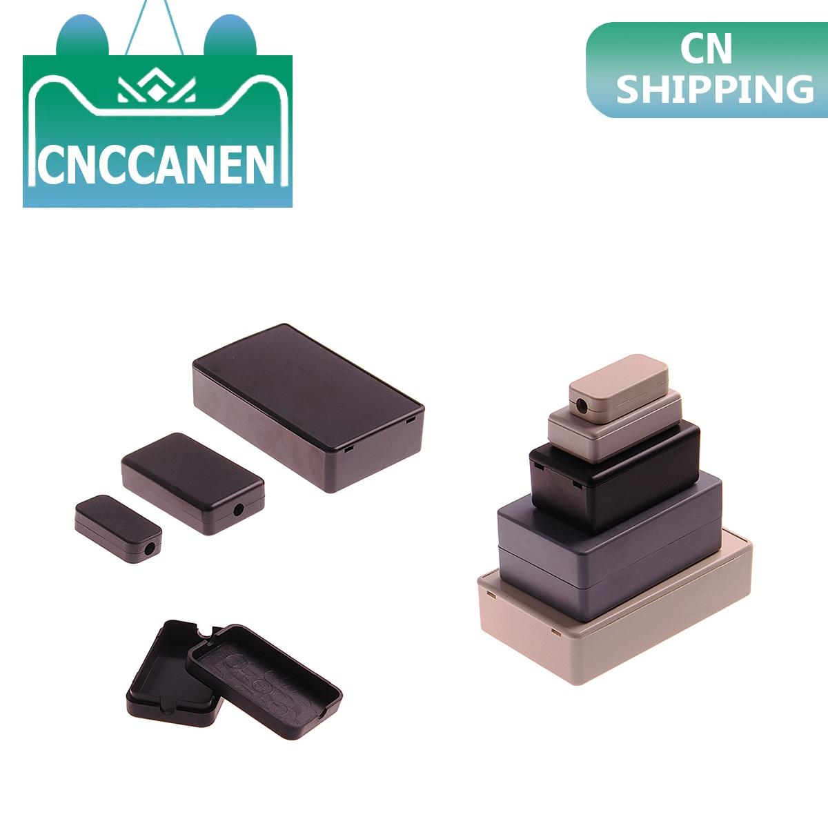 1PC New DIY Housing Instrument Case Black White ABS Plastic Project Box Storage Case Enclosure Boxes Electronic Supplies