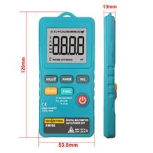 RICHMETERS RM088 Mini Digital Multimeter 8000 counts Line Frequency True RMS Flash light AC/DC Voltage Ohm