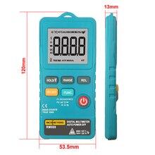 Richmeters RM088 Mini Digitale Multimeter 8000 Telt Lijn Frequentie True Rms Flash Licht Ac/Dc Spanning Ohm