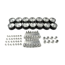 for Henglong 3889 3889-1 German Leopard 2A6 1/16 RC Tank Upgrade Parts Metal Wheels Hub Set Metal Track and Gear(China)