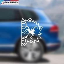 1pcs 20cm Reflective Cartoon Cart Graphics Vinyl Decals Car Rear Windshield Decor Stickers Funny Style Auto Body Door Decal все цены