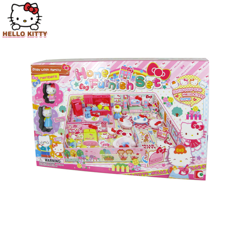 50061 Hello Kitty Hello Kitty Home Set Model Kitchen Furniture GIRL'S Play House Toys