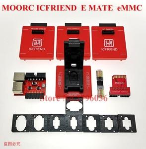 Image 3 - Nowy MOORC wysokiej prędkości E MATE X E MATE BOX EMATE EMMC BGA 13in 1 dla 100 136 168 153 169 162 186 221 529 254 Z3X łatwe Jtag