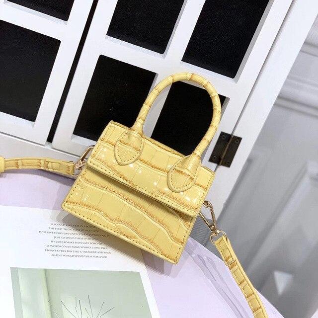 Mini Crocodile Pattern Shoulder Bags 4