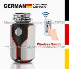 Немецкий 1100 Вт моторная технология септик помощь 1 л.с. бытовой измельчитель мусора