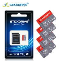 Alta velocidade Microsd Class10 8GB GB GB 64 32 16GB Cartão Micro SD de 128GB Cartão de Memória Mini SD Card 4GB cartao de memoria adaptador livre
