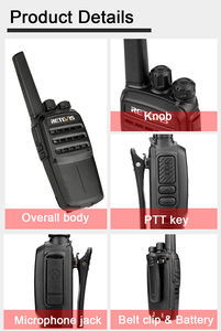 Image 5 - RETEVIS RT40 DMR Digital PMR Radio Walkie Talkie 10pcs FRS/PMR446 446MHz 0.5W VOX USB Charging Private/Group Call Two Way Radio