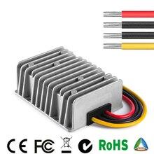 9 V-36 V до 13,8 V Макс 28A преобразователь постоянного тока Регулятор Редуктор Напряжение стабилизатор шаг вверх вниз Тип Водонепроницаемый IP67 12V 24V T0 13,8 V CE